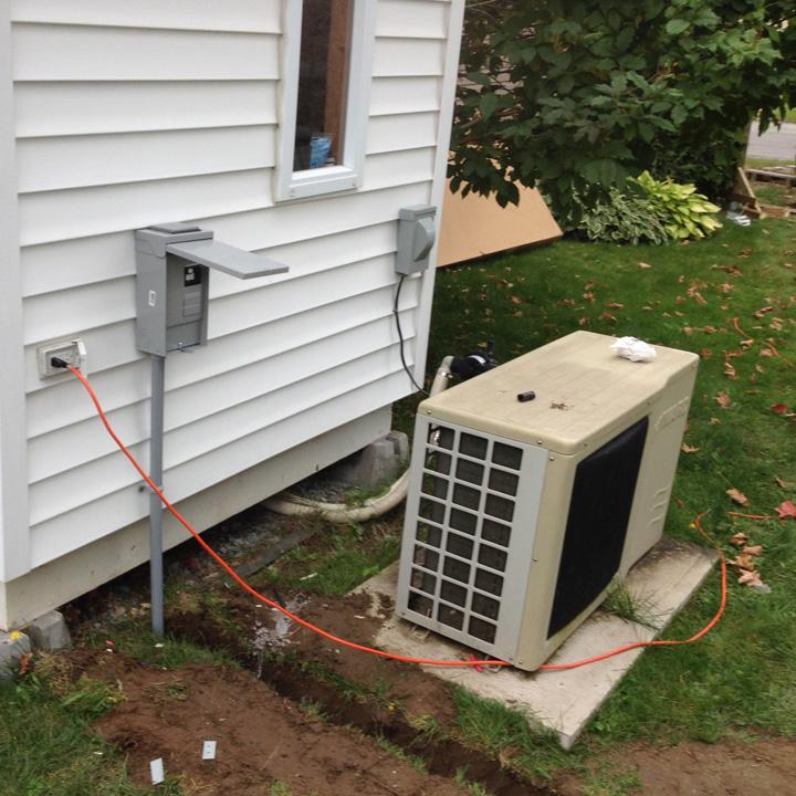 Branchement thermopompe à Sherbrooke | Epn Electrique à Sherbrooke