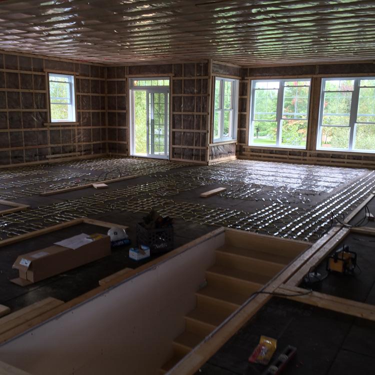 Installation de plancher chauffant Sherbrooke | EPN Electrique à Québec